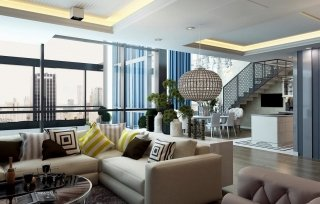Penthouse w Platinum Towers 200 m2
